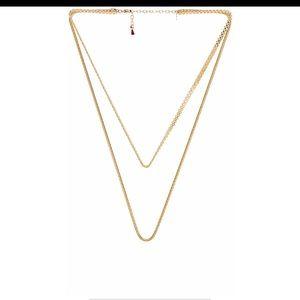 REVOLVE Shashi gold necklace